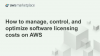 Optimize your Software IT Spend with AWS