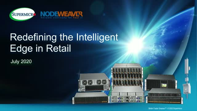 Redefining the Intelligent Edge in Retail