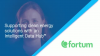 Rikka Blomberg - Fortum:Supporting clean energy solutions with an Intelligent...