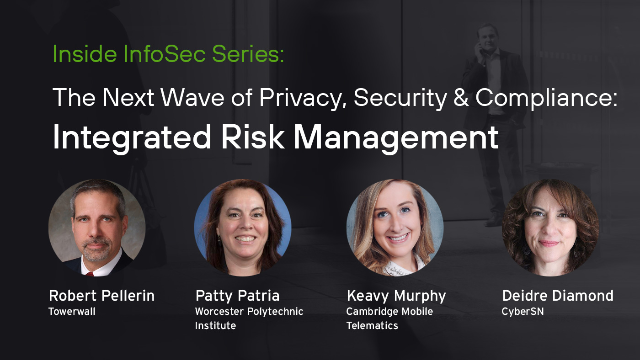 The next wave of Privacy, Security and Compliance - Integrated Risk Management