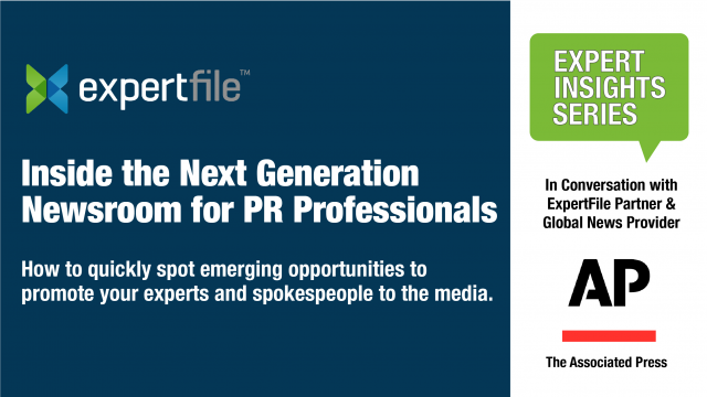 """Inside the Next Generation Newsroom"" for PR Professionals"