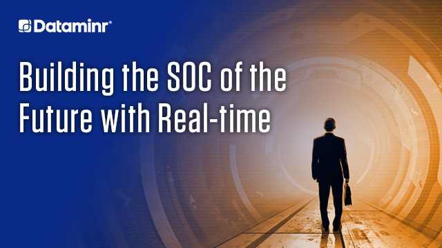 Building the SOC of the Future with Real-time Information (NORAM)