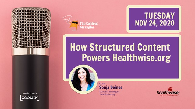 How Structured Content Powers Health Education at Healthwise.org