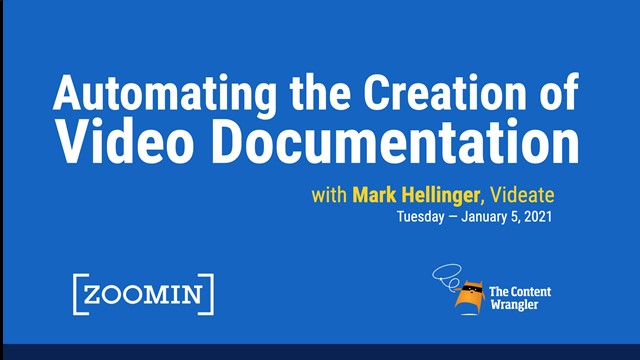 Automating the Creation of Video From Software Documentation