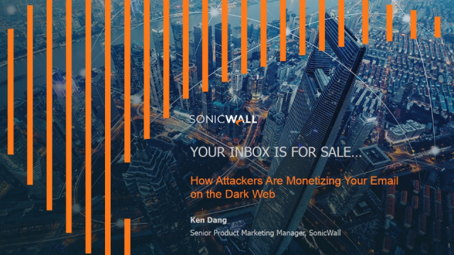 Your Inbox Is For Sale: How Attackers Are Monetizing Your Email on the Dark Web