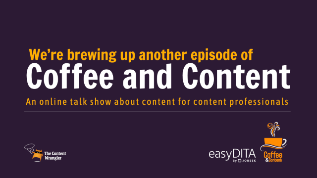 Coffee and Content Episode Coming Soon