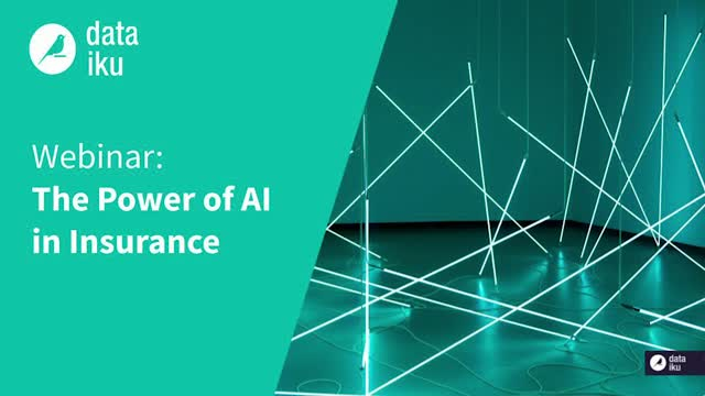 The Power of AI in the Insurance Industry | With Dataiku and Aviva