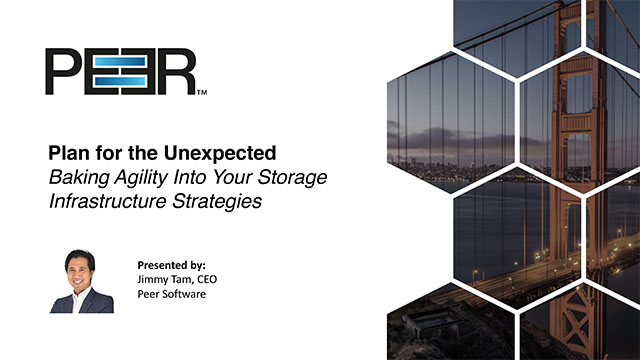 Plan Ahead by Baking Agility Into Your Storage Infrastructure Strategy