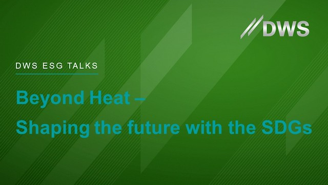 Beyond Heat - Shaping the future with the SDGs