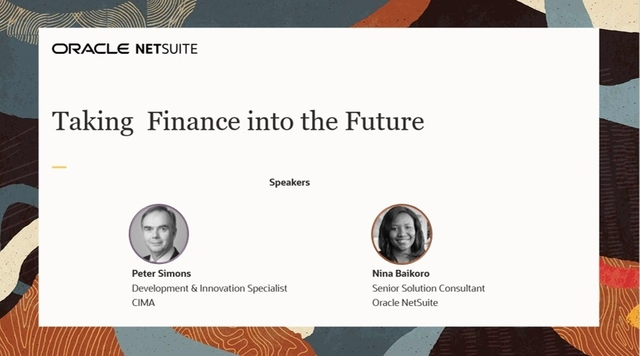 Taking Finance into the Future
