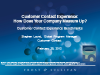 Customer Contact Experience – How Does Your Company Measure Up?
