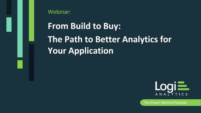 From Build to Buy: The Path to Better Analytics for Your Application