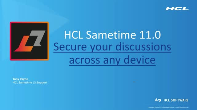 Getting Started with Sametime 11