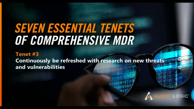 Seven Essential Tenets of Comprehensive MDR