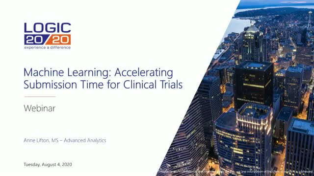 Machine Learning: Accelerating Submission Time for Clinical Trials
