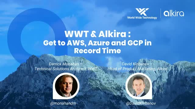 Get to AWS, Azure and GCP in Record Time