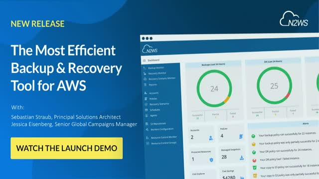 NEW RELEASE: N2WS Backup & Recovery v3.1 - Overview & Demo [AMS]