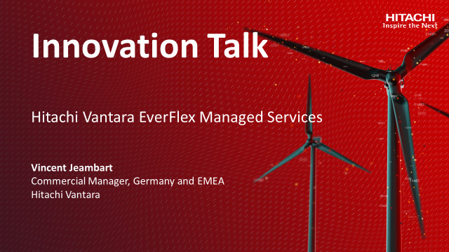 Hitachi Vantara EverFlex Managed Services