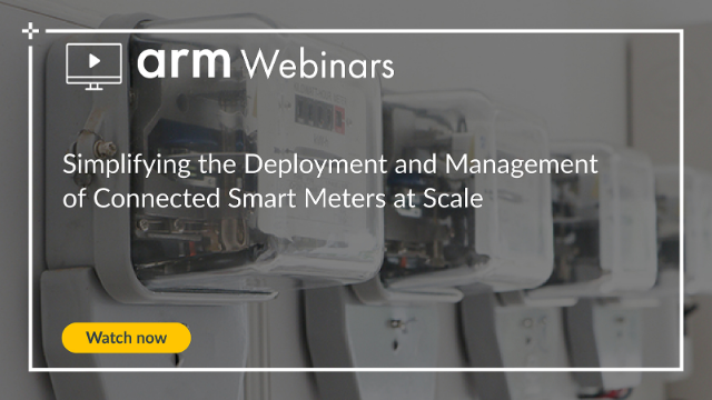 Simplifying the Deployment and Management of Connected Smart Meters at Scale