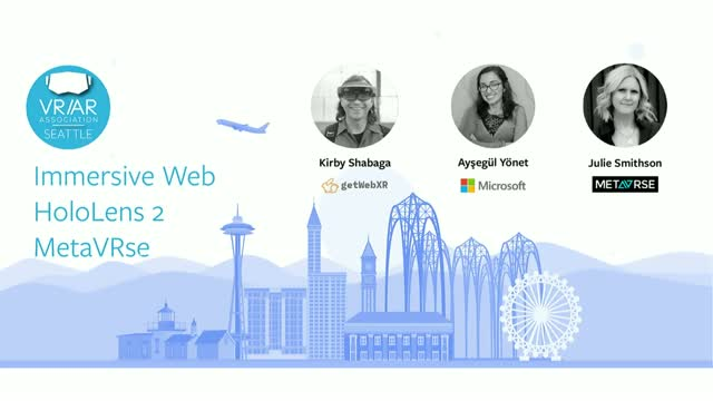The Immersive Web, HoloLens 2 and MetaVRse