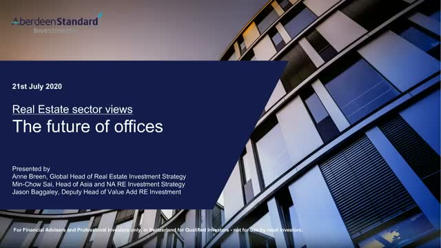 Real Estate sector views - The future of offices
