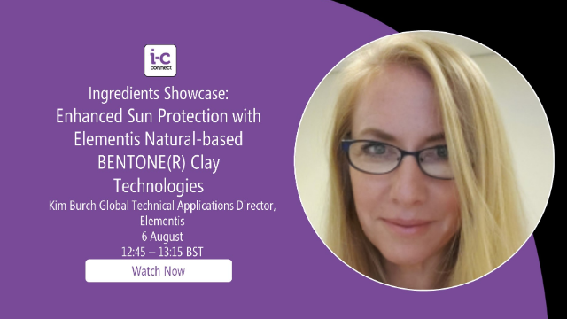 Enhanced Sun Protection with Natural-based BENTONE(R) Clay Technologies