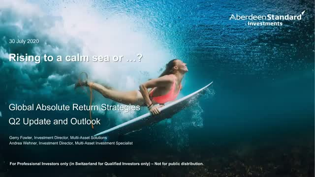 Global Absolute Return Strategies (GARS) Quarterly update