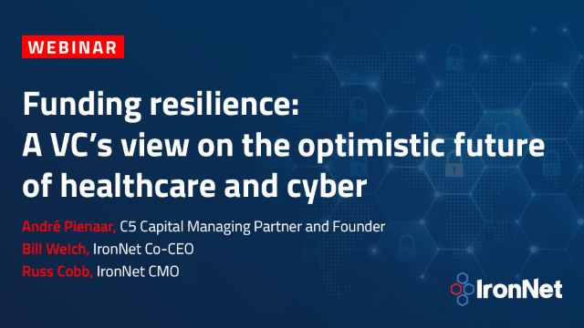 Funding resilience: A VC's view on the optimistic future of healthcare and cyber
