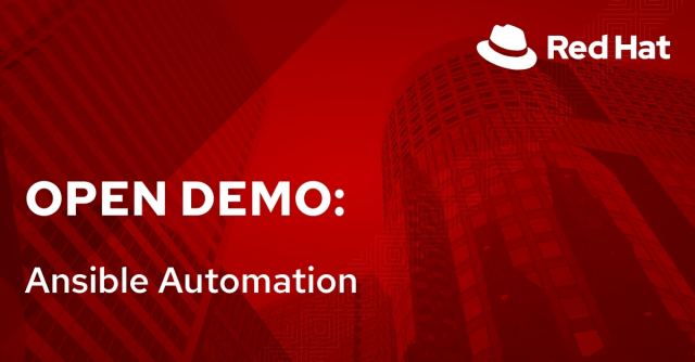Open Demo: Ansible Automation (7/6)