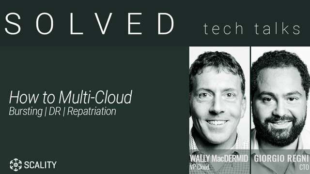 How To Multi-Cloud: A Platform for Burst, Disaster Recovery, and Repatriation