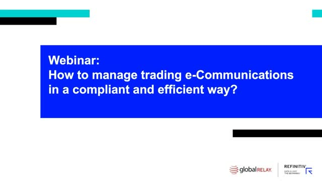 How to Manage eTrading in a Compliant and Efficient Way