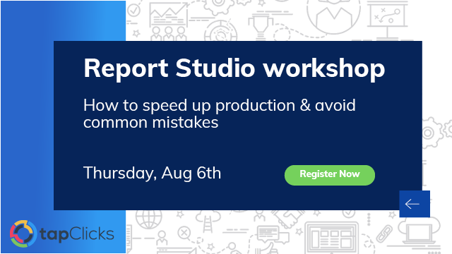 How to Scale Report Studio - Workshop