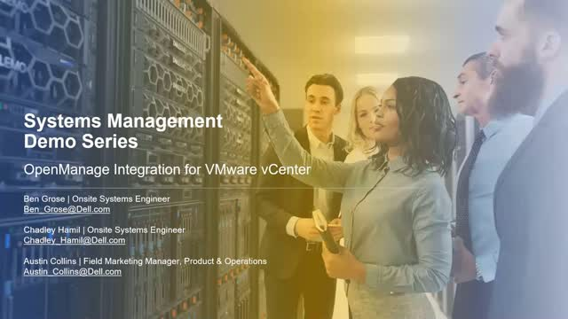 Systems Management Demo Series - OpenManage Integration for VMware vCenter