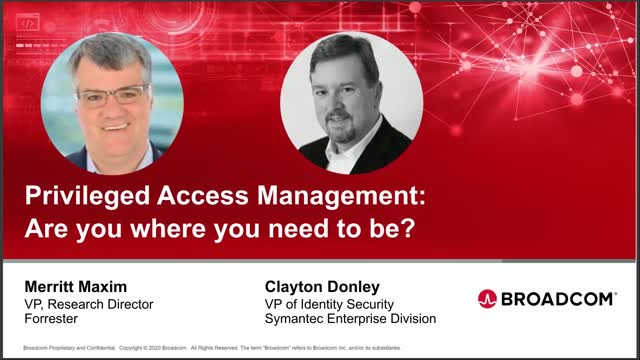 Privileged Identity Management: Customer Challenges and Maturity