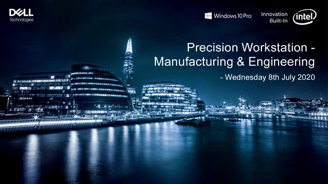 Precision Workstation event - Manufacturing and Engineering industries