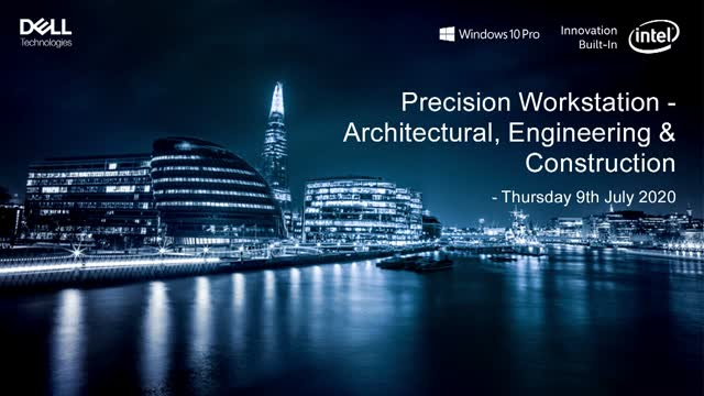 Precision Workstation event - Architectural, Engineering & Construction