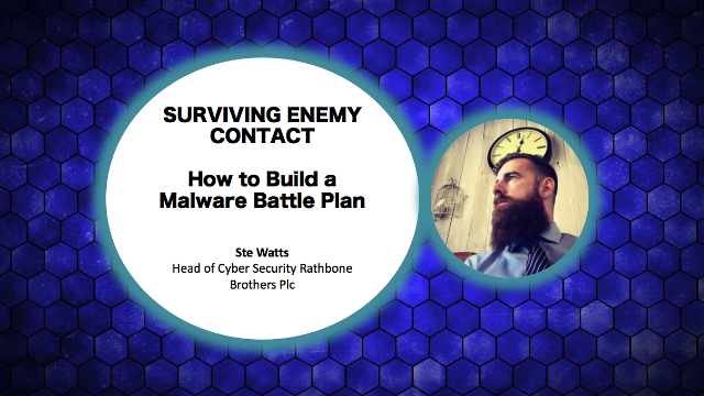 Surviving Enemy Contact – How to Build a Malware Battle Plan