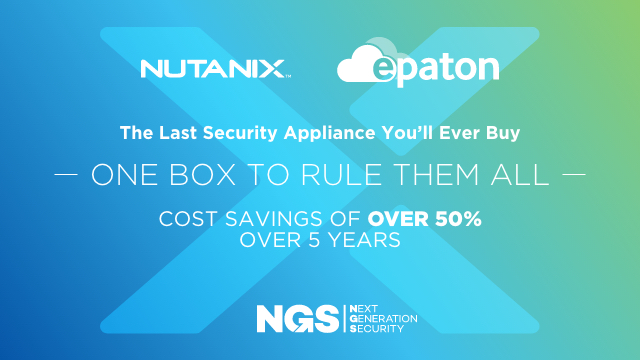The Last Security Appliance You Will Ever Buy