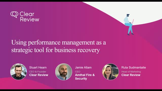 Utilising performance management as a business recovery tool