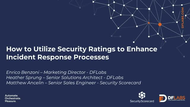 How to Utilize Security Ratings to Enhance Incident Response Processes