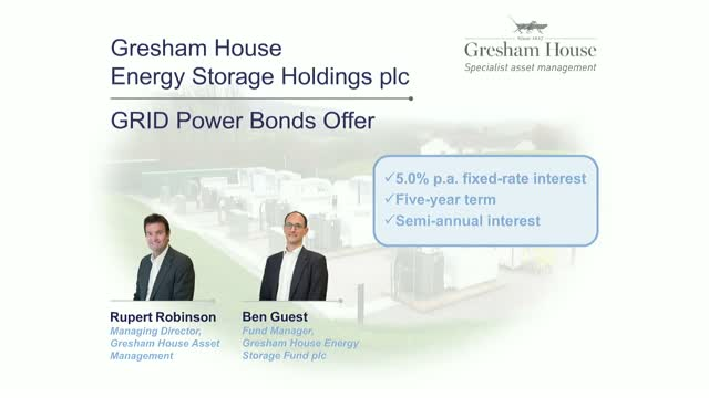 GRID Power Bond Investor Q&A