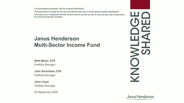 Multi-Sector Income Update: Finding value in today's fixed income market