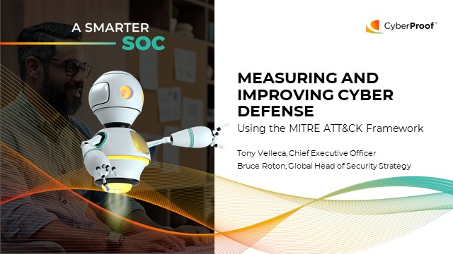 Measuring and Improving Cyber Defense Using the MITRE ATT&CK Framework