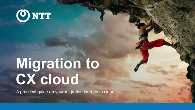 Migrating your Contact Centre to the Cloud