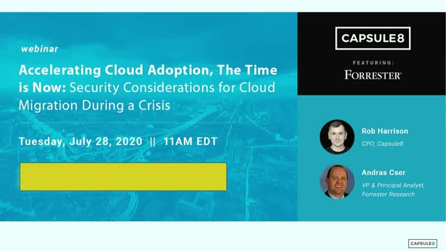 Security Considerations for Cloud Migration During a Crisis