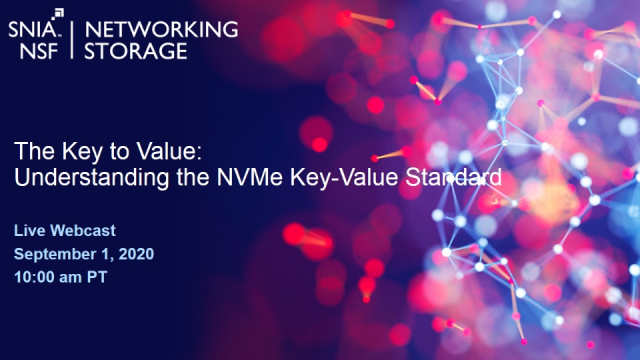 The Key to Value: Understanding the NVMe Key-Value Standard