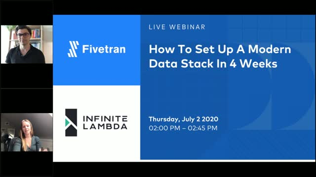 How To Set Up A Modern Data Stack In 4 Weeks