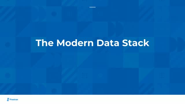How To Setup a Modern Data Stack