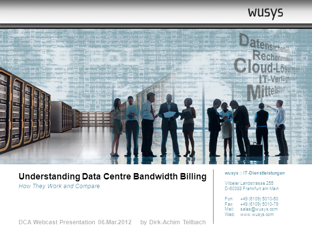 Understanding data centre bandwidth billing - how they work and compare