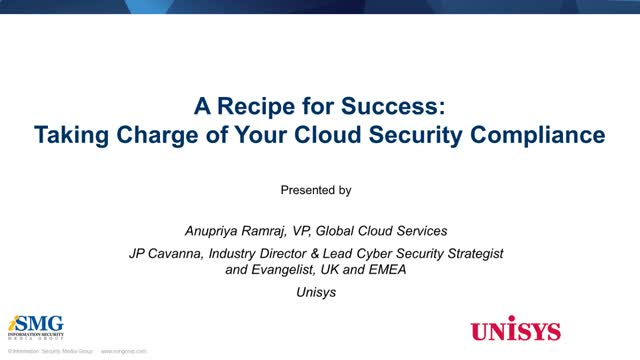 A Recipe for Success: Taking Charge of Your Cloud Security Compliance